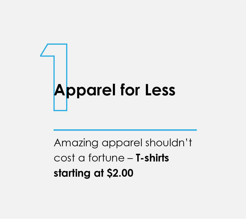1 Apparel for Less